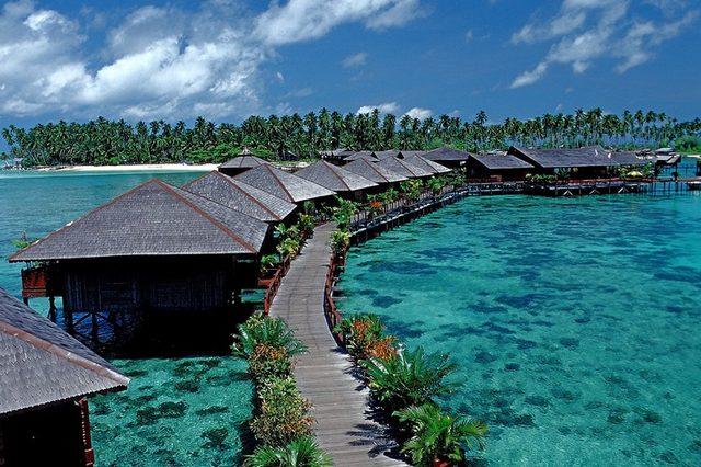 جزيرة سيبادان من اهم جزر ماليزيا السياحية