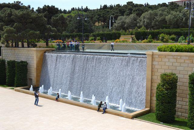 ابلاند بارك من اجمل حدائق باكو في اذربيجان