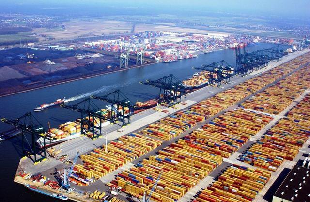 ميناء روتردام