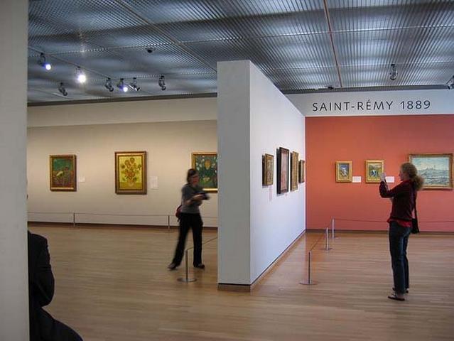 لوحات فان جوخ في امستردام