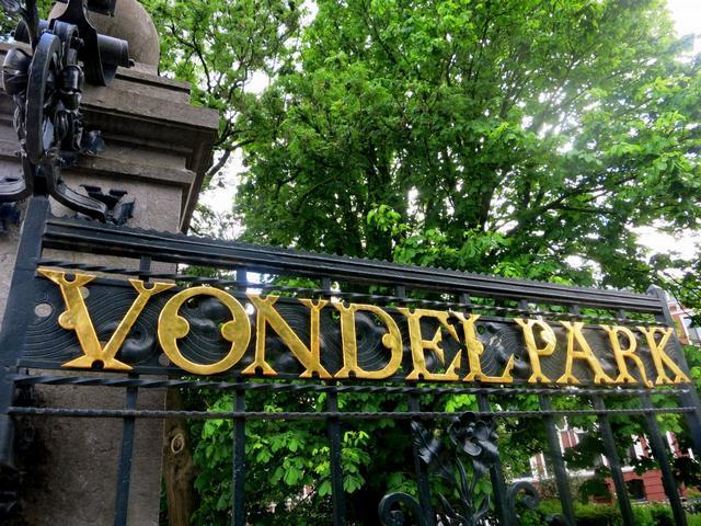 حديقة فوندل بارك في امستردام