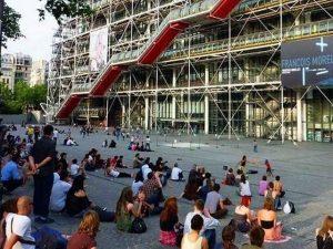 مركز جورج بومبيدو من اهم اماكن السياحة في فرنسا باريس