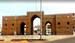 باب مكة في جدة من اهم الاماكن السياحية في جدة السعودية