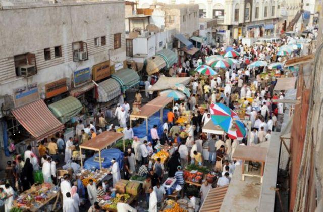 باب مكة جدة من أشهر الاماكن السياحية في جدة