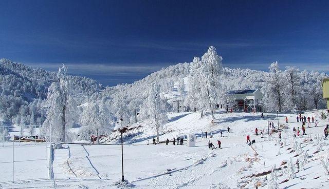السياحة في سبانجا - جبل كارتبه تركيا