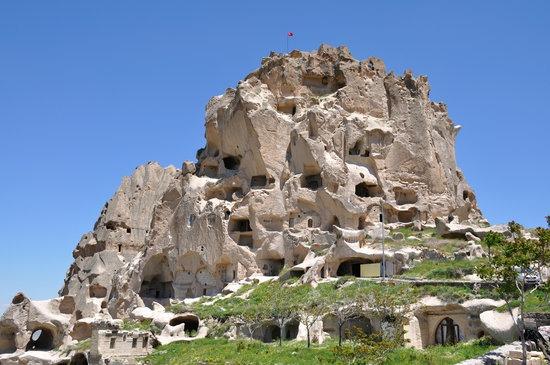 قلعة اوشيسار في كابادوكيا
