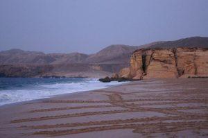 رأس الجنز من افضل اماكن السياحة في سلطنة عمان