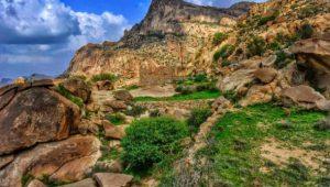 منتزه جبل شد الأعلى في مدينة الباحة