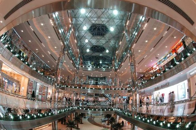 العرب مول جدة من افضل الاماكن السياحية في جدة