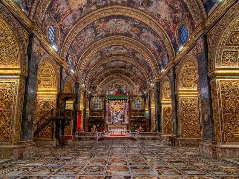 كاتدرائية القديس يوحنا في جزيرة مالطا - السفر الى مالطا