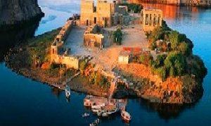 جزيرة أجيليكا من افضل اماكن السياحة في اسوان