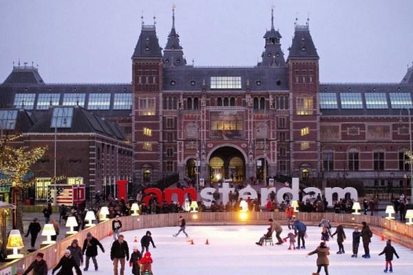 امستردام في الشتاء