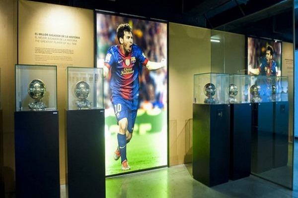 متحف نادي برشلونة من أعرق المتاحف الرياضية