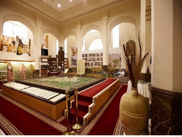 قاعة تاريخ المدينة في متحف دار المدينة للتراث