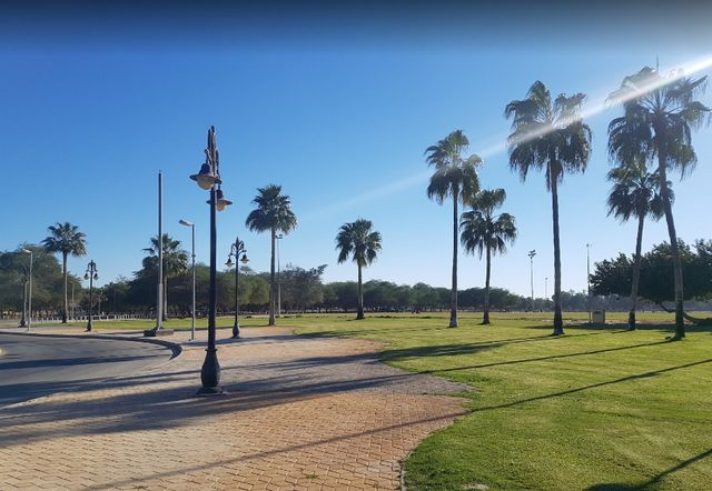 منتزه الدفي في الجبيل من اهم المنتزهات السياحية