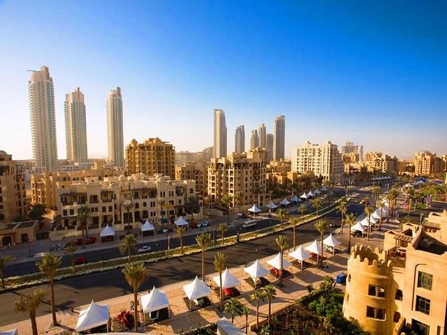 شارع البوليفارد من افضل شوارع دبي السياحية