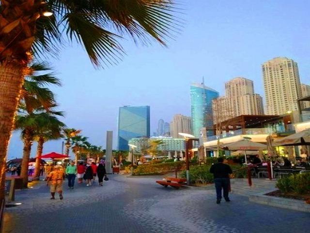 شارع جي بي آر من افضل شوارع دبي