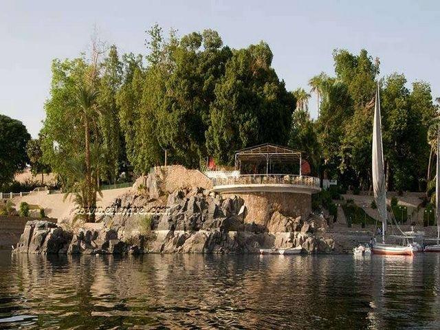 جزيرة النباتات في مصر اسوان