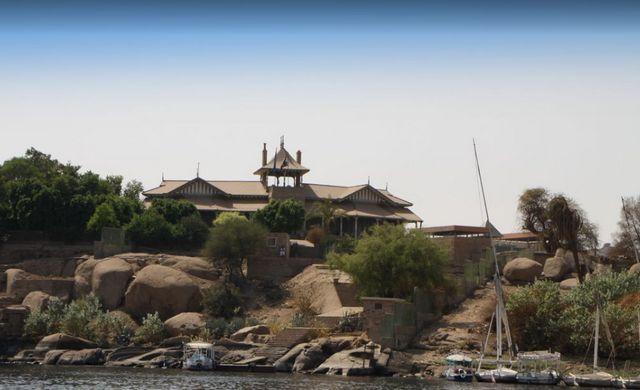 جزيرة الفنتين في اسوان من اهم الاماكن السياحية في اسوان مصر