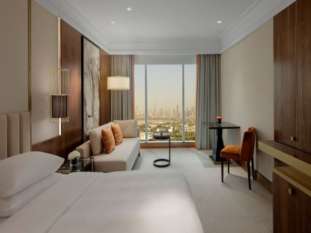 غرف فندق جراند حياة دبي