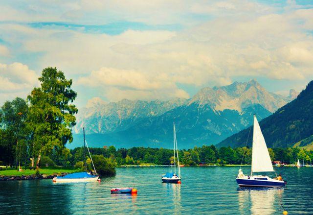 بحيرة كابرون النمسا