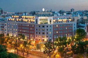 فندق انتركونتيننتال من افضل الفنادق في مدريد
