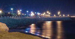 كورنيش الجبيل من اهم الاماكن السياحية في الجبيل السعودية