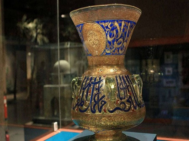 قطع نحاسية في المتحف النوبي
