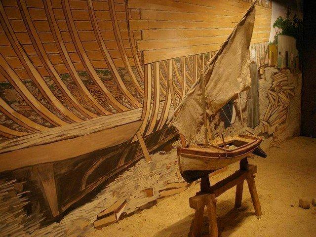 قاعة الصناعات النوبية في المتحف النوبي