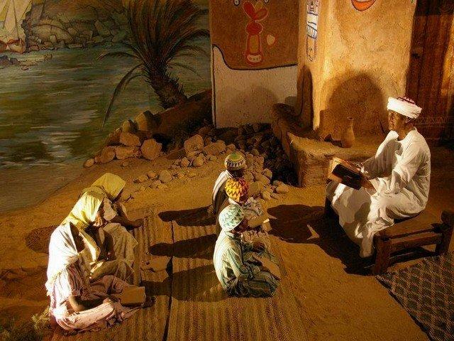 القاعة الإسلامية في المتحف النوبي