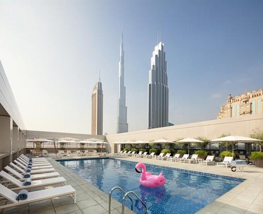 فندق روف داون تاون دبي