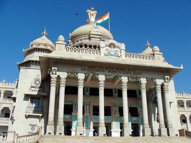 مبنى فيدانا سودها من افضل اماكن السياحة في بنجلور