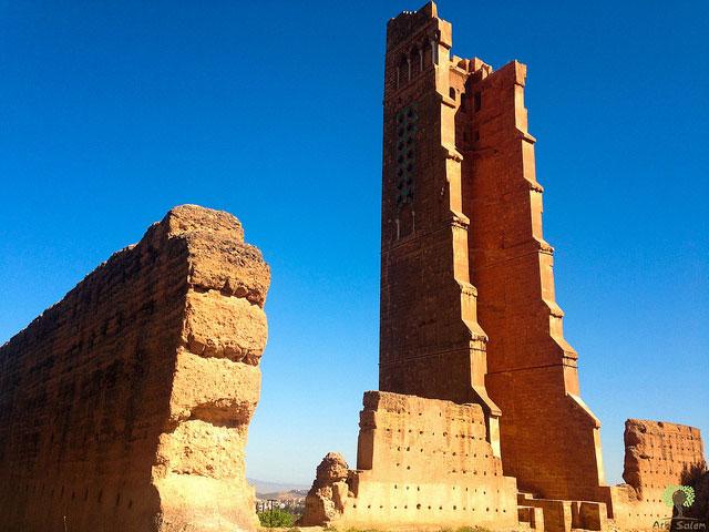 جامع المنصورة هو من معالم السياحة في تلمسان
