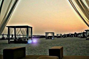 شاطئ السيدات في ابوظبي من افضل شواطئ ابوظبي
