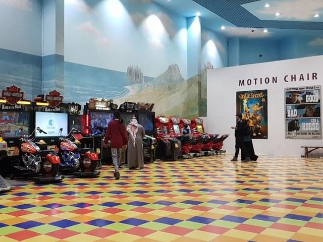 ألعاب الفيديو في الرياض سيتي مول السعودية