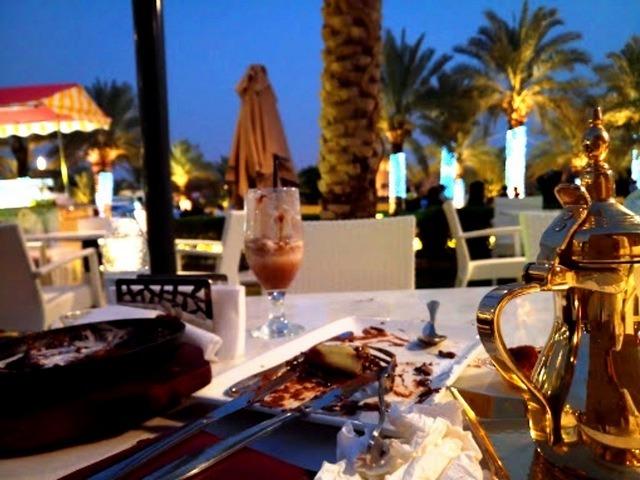 مقاهي منتزه الدرعيه