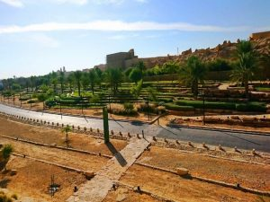 منتزه الدرعية من اجمل منتزهات الرياض