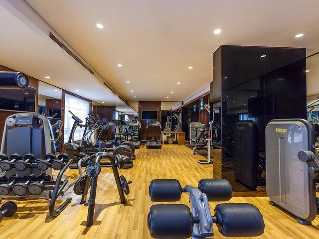مركز اللياقة البدنية في فندق فلورا البرشاء دبي