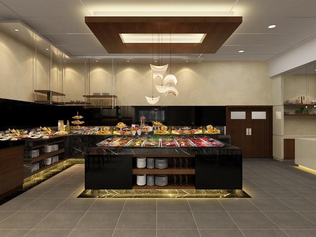 مطعم فندق فلورا البرشاء دبي