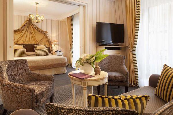 ديكورات رائعة زّودت بها جميع وحدات فندق نابليون باريس شانزليزيه