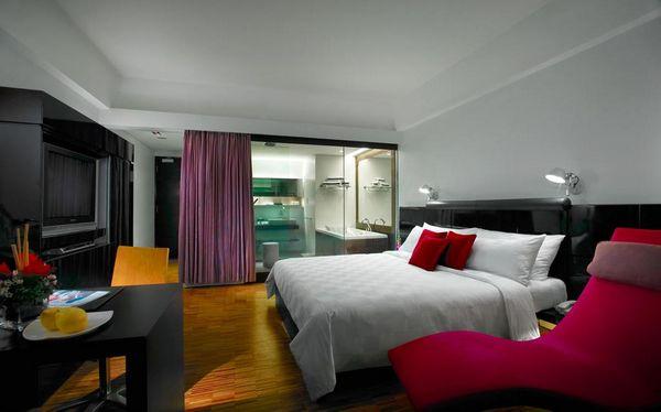 تتنوّع الغرف في فندق مايا هوتيل كوالالمبور بين الغُرف العادية والاستديوهات.
