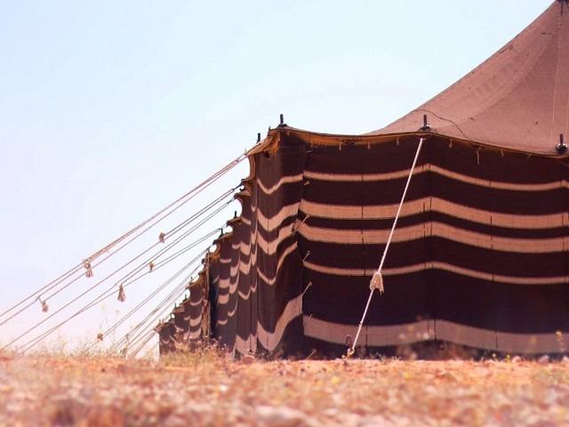 بيوت الشعر في منتزه الملك سلمان البري بالرياض السعودية