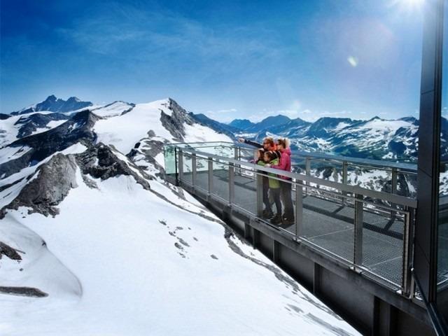 قمة سالزبورغ في قمة كابرون الثلجية