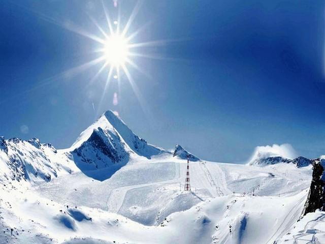 مشهد لقمة كابرون الثلجية