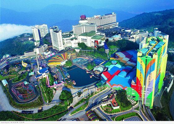 حديقة مركز مدينة كوالالمبور ماليزيا