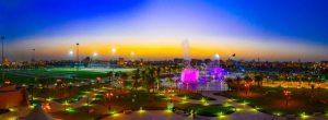 اجمل حدائق الرياض للعوائل