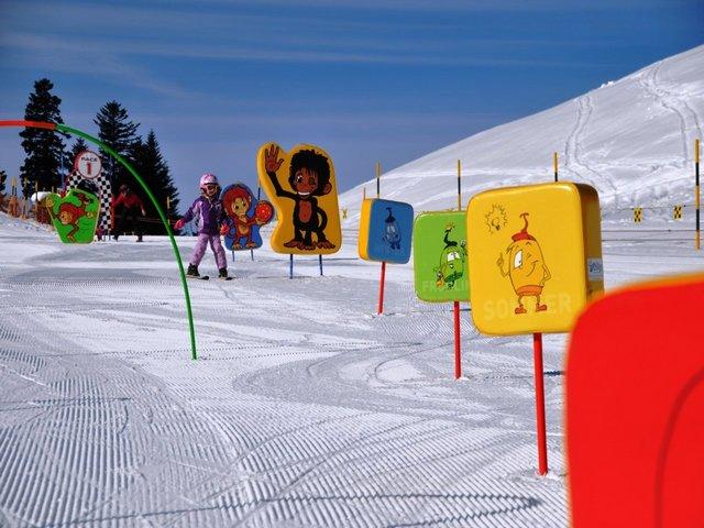 التزلج على الثلج في زيورخ