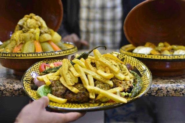 نسمة من نسائم المغرب في مطاعم الجبيل