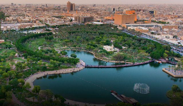 حدائق في الرياض