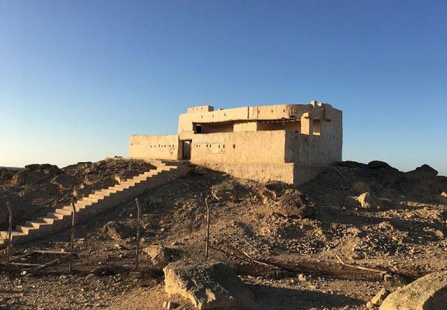 جزيرة فرسان بها تقع القلعة العثمانية